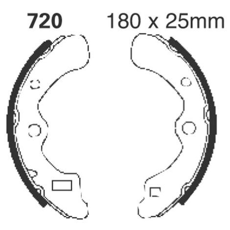 Kawasaki Brake Shoe - K720