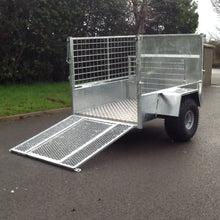"Load image into Gallery viewer, 5' X 3'3"" Mesh Sides Quad Trailer"