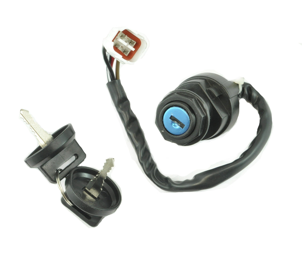 Two Position Ignition Key Switch for Yamaha ATV's 1993-08 | OEM 4GB-82510-11-00