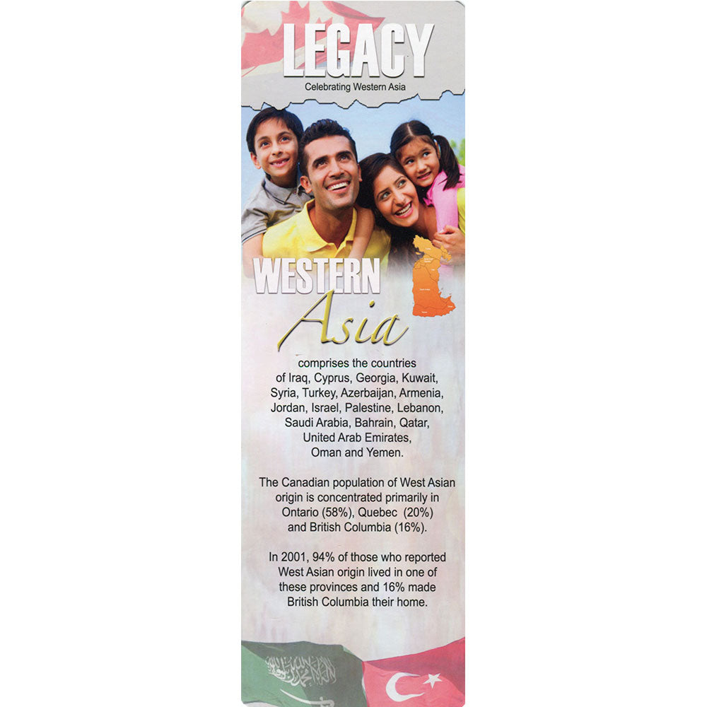 Celebrating Western Asia - The LEGACY Collexion