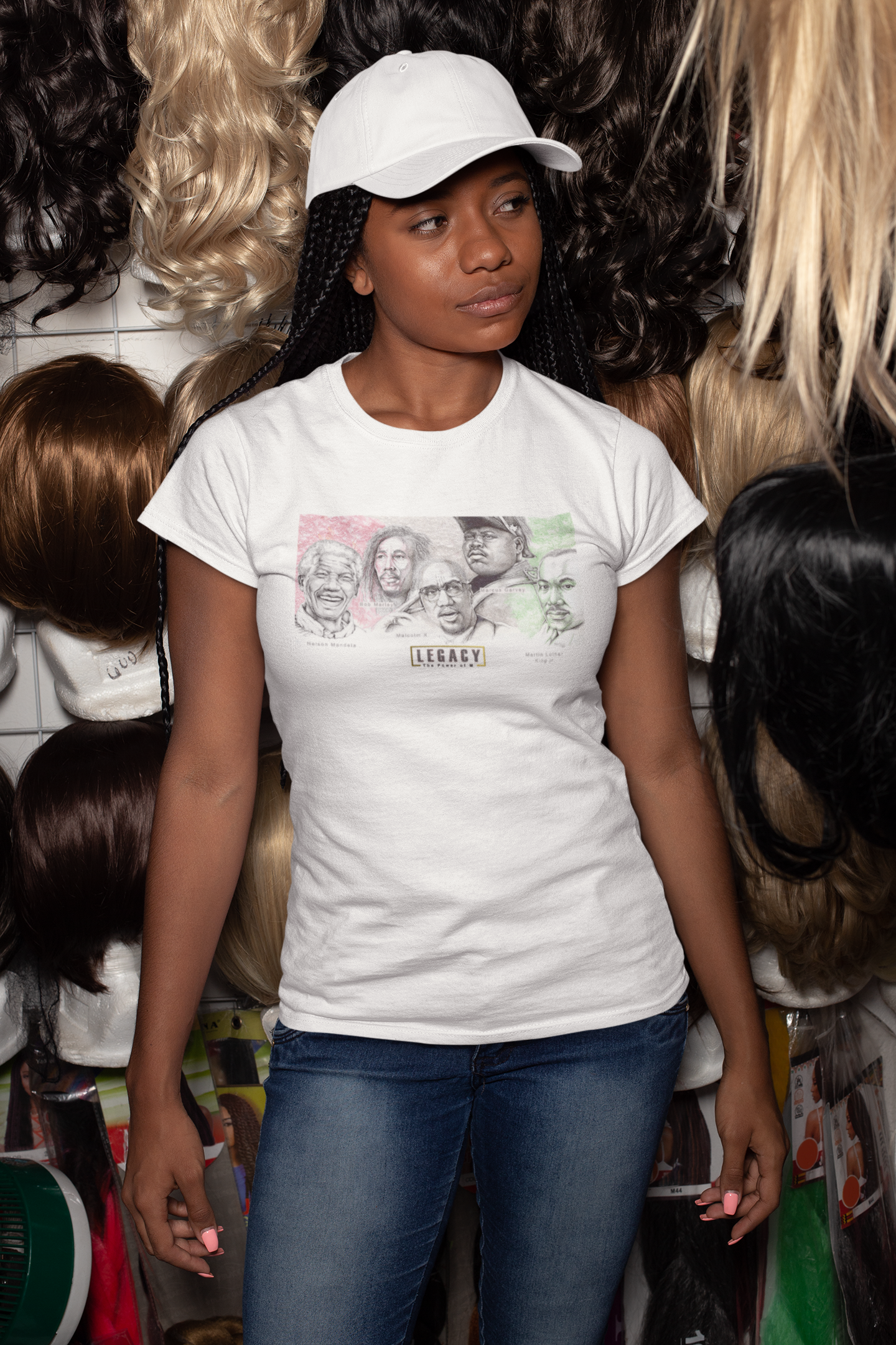 "The Power of ""M"" Tee! (Women) - The LEGACY Collexion"