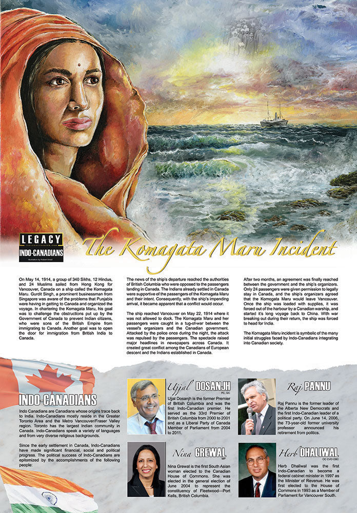 Asian Heritage Month: Celebrating Indo-Canadians - The LEGACY Collexion