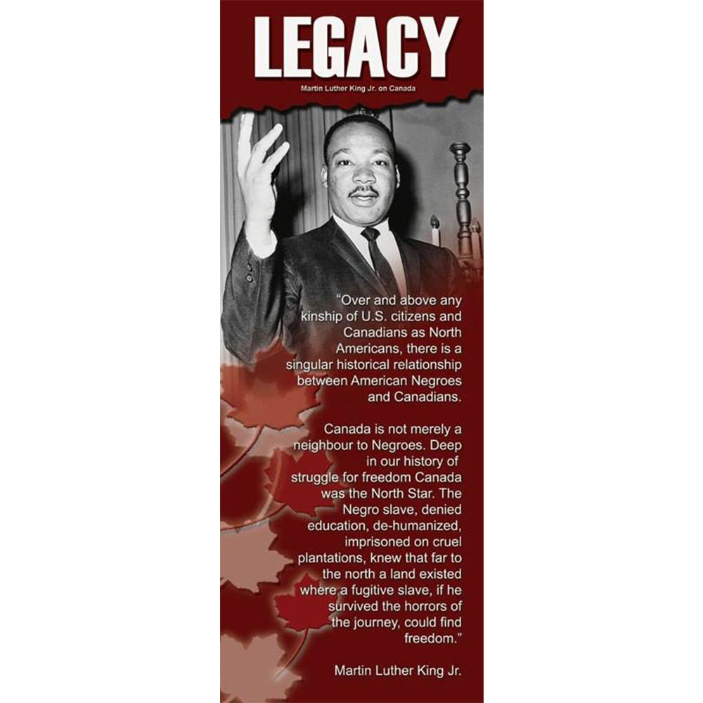 Martin Luther King Jr. on Canada - The LEGACY Collexion