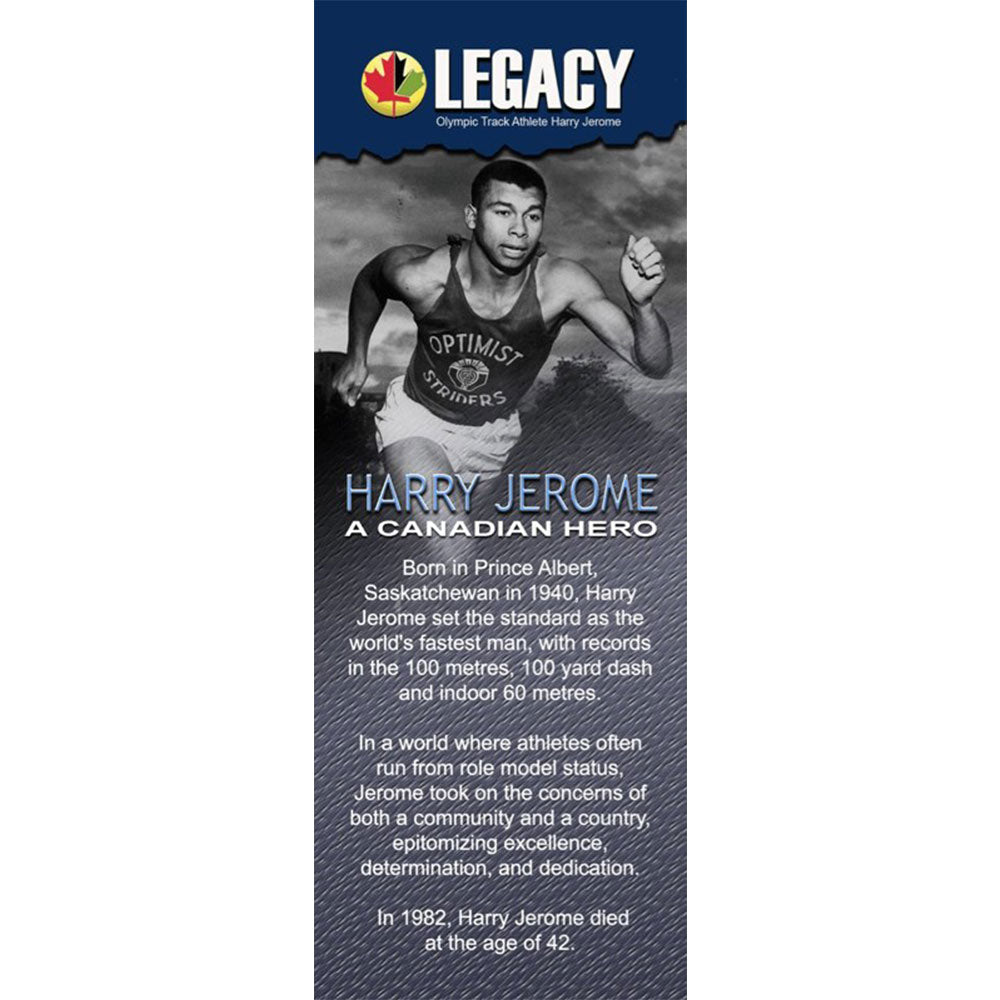 Athlete Harry Jerome - The LEGACY Collexion