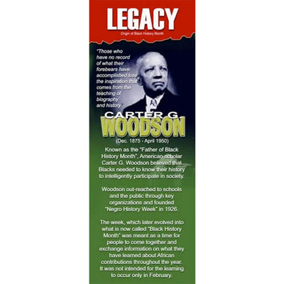 Carter G. Woodson (Father of Black History Month) - The LEGACY Collexion
