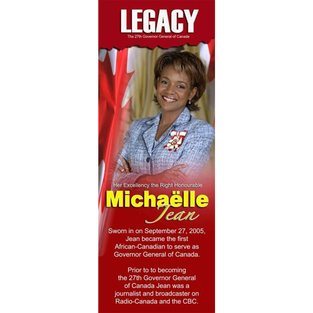 Hon. Michaelle Jean - The LEGACY Collexion