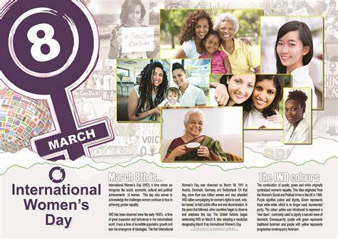 International Women's Day Poster - The LEGACY Collexion