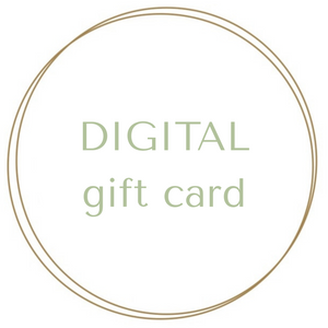 Peanut and Poppet digital gift card logo graphic