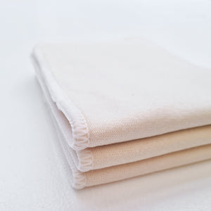 Yoho and Co hemp inserts for reusable nappy - nappy accessories - Peanut and Poppet UK