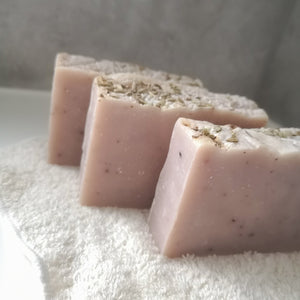 Wild Lavender Uno Bar - Solid shampoo, wash and shave bar - Eco Bathroom - Peanut and Poppet UK