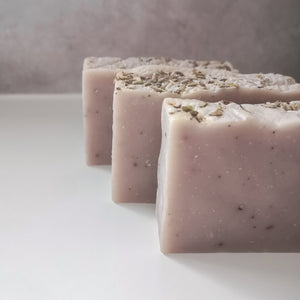 3 Save Some Green Wild Lavender Uno Bar - Solid shampoo, wash and shave bar - Eco Bathroom - Peanut and Poppet UK