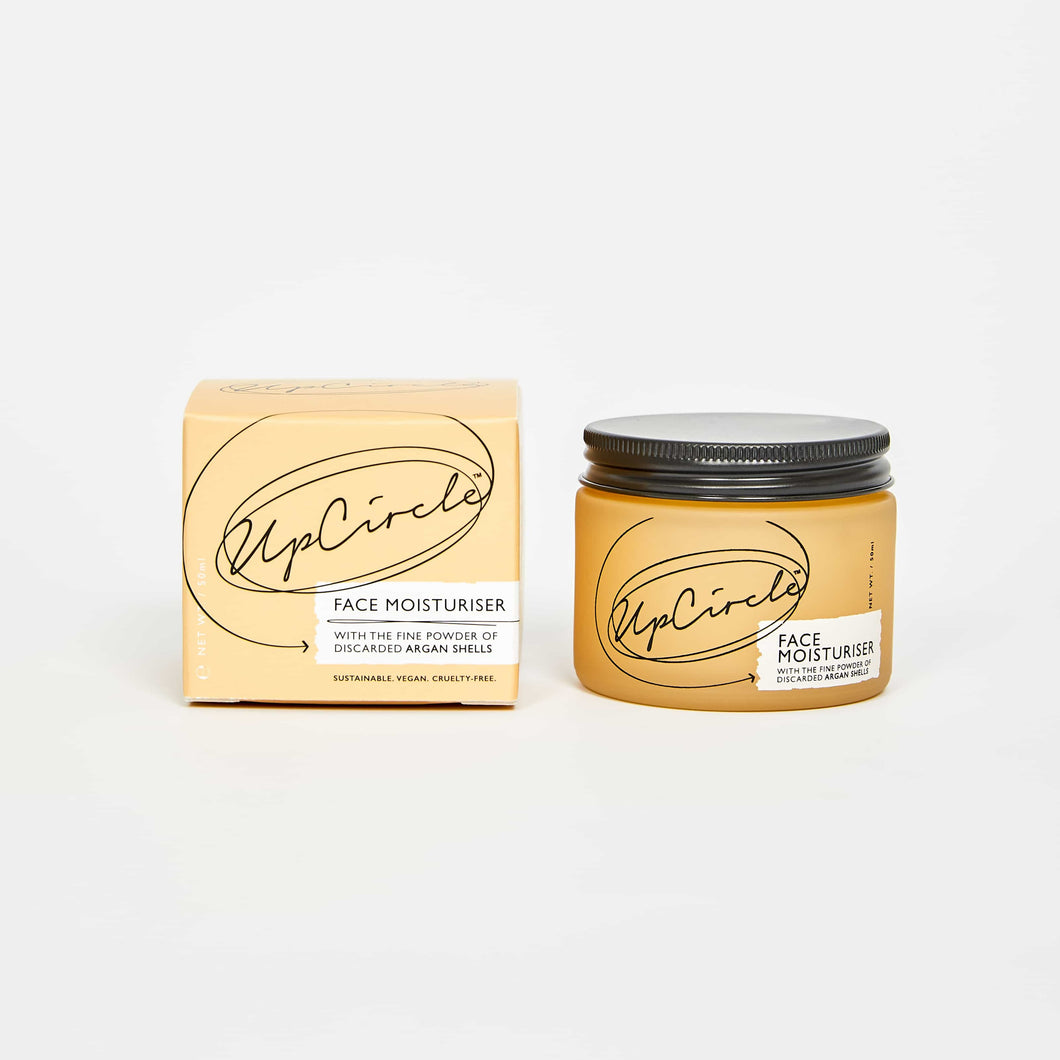 UpCircle Face Moisturiser - Eco friendly and vegan face cream - Peanut and Poppet UK
