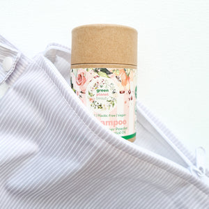 Green Planet Beauty Natural Dry Shampoo - Eco Friendly Haircare - Peanut and Poppet UK