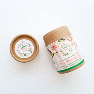 Green Planet Beauty Natural Dry Shampoo - Eco Friendly Dry Shampoo- Peanut and Poppet UK