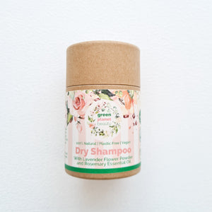 Green Planet Beauty Natural Dry Shampoo - Vegan Haircare - Peanut and Poppet UK