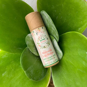 Green Planet Beauty Natural Vegan Lip Balm - Eco Skincare - Peanut and Poppet UK