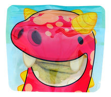 Load image into Gallery viewer, Red Nom Nom Kids reusable monster snack bags - Eco Living - Peanut and Poppet UK