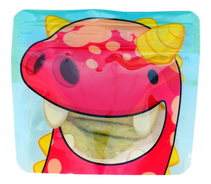 Red Nom Nom Kids reusable monster snack bags - Eco Living - Peanut and Poppet UK