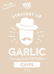 Straight Up Garlic Chips