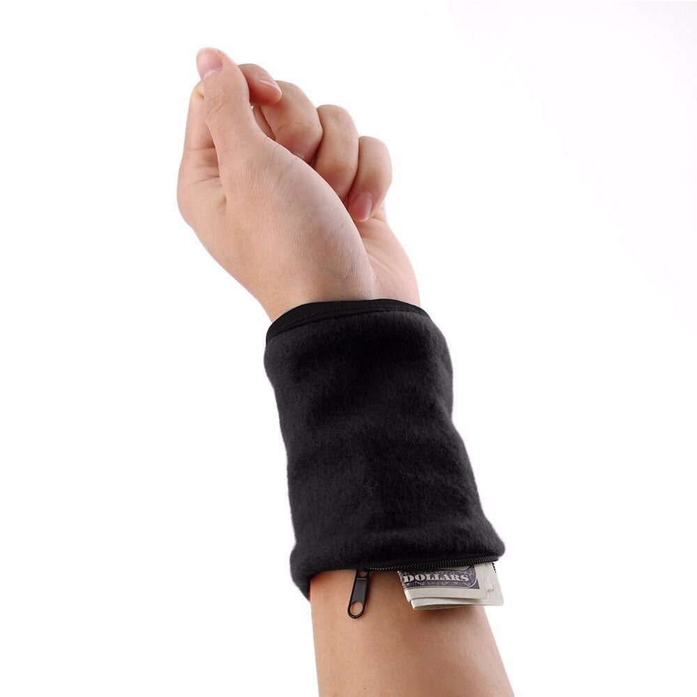 Fitness Wallet Wristband & Sweatband