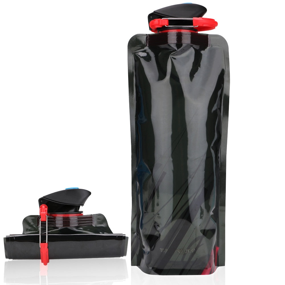 Outdoor folding drinking bag 700ml