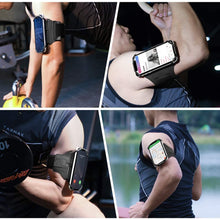 Load image into Gallery viewer, Universal 180° Rotatable Phone Armband Holder