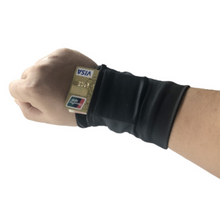 Load image into Gallery viewer, Fitness Wallet Wristband & Sweatband