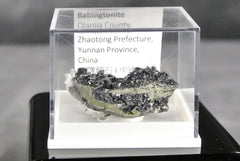 Fine Mineral Rock Babingtonite