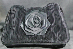 Handbag Black Rose
