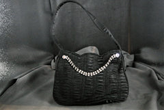 Handbag Faux Diamonds