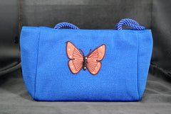 Handbag Peach Butterfly