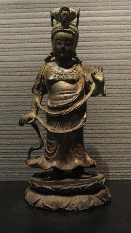 Metal Work Cast Iron Guanyin