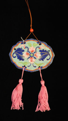 Cloisonne Ornaments Pink Narcissus