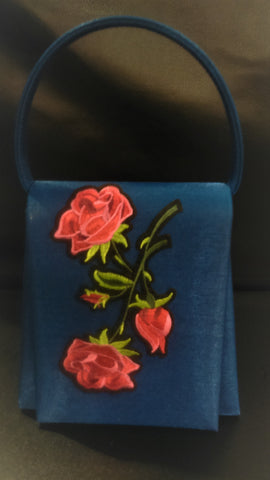 Handbag Red Roses For a Lady
