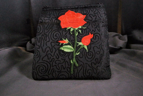 Handbag English Rose