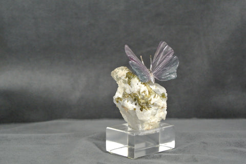 Fine Mineral Carved Butterfly