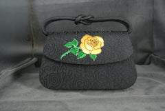 Handbag Yellow Rose