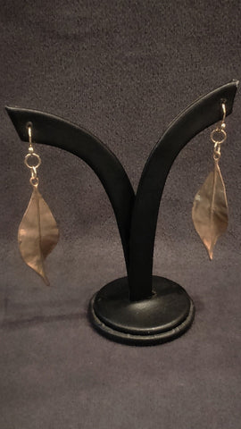 Jewelry Earrings Dangles Brass Leaves