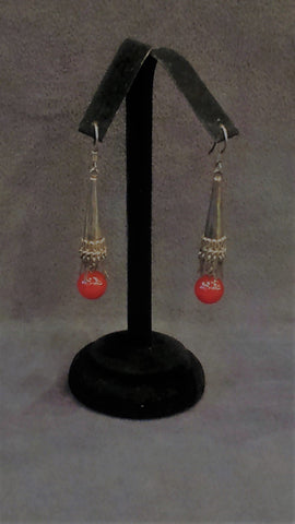 Jewelry Earrings Silver Carnelian Dangles
