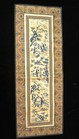 Embroidery Chinese Applique Scenery