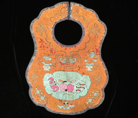 Embroidery Chinese Bib