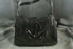 Handbag Black Dutch Tulip