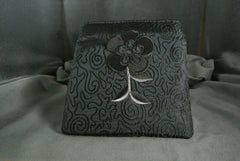 Handbag Black Rose Stem