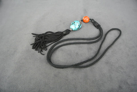 Jewelry Chinese Cords Coral Turquoise