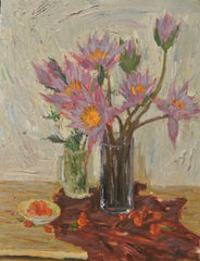 Painting Oil Still Life Flowers