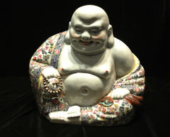 Porcelain Large Laughing Buddha