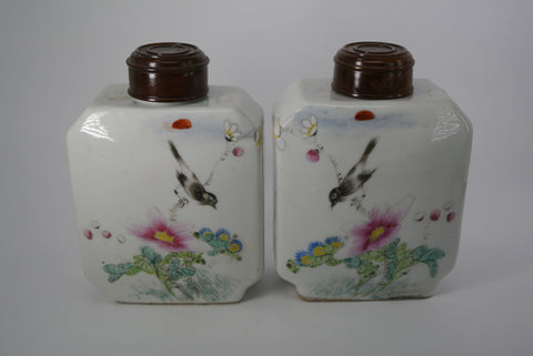 Porcelain Tea Jars