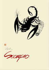 Zodiac Poster Scorpio (Oct 23-Nov 21) - The Conservers