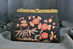 Handbag Vintage Embroidered Purse