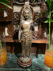 Wood Carved Guanyin